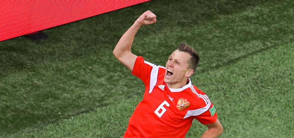 Denis Cheryshev Russia World Cup 2018
