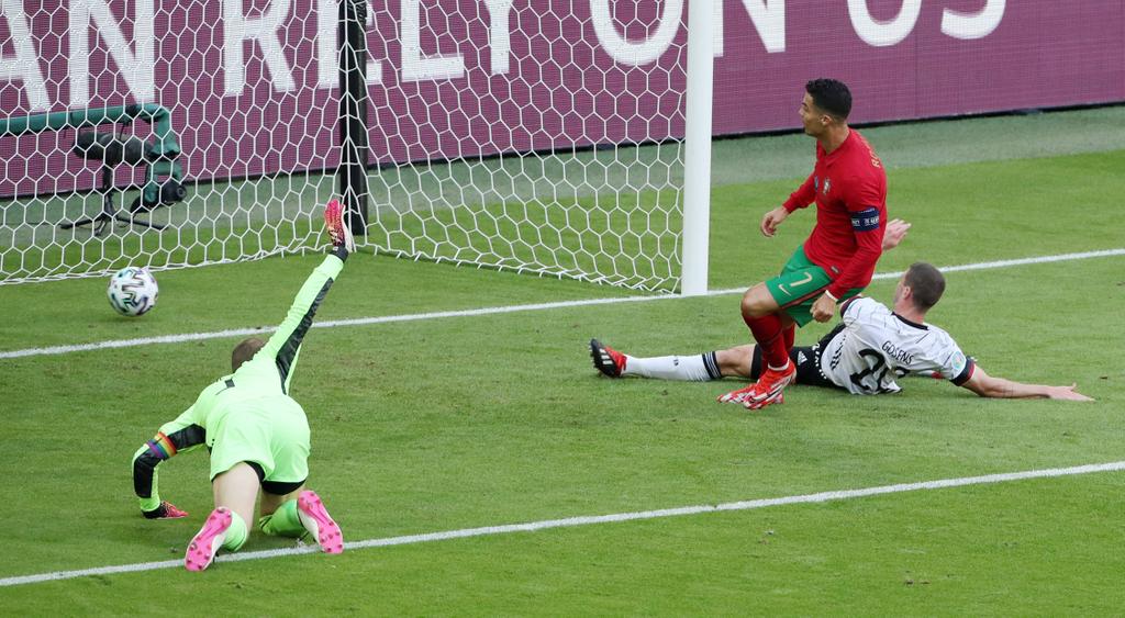 Ronaldo Euro 2020 Germany Portugal
