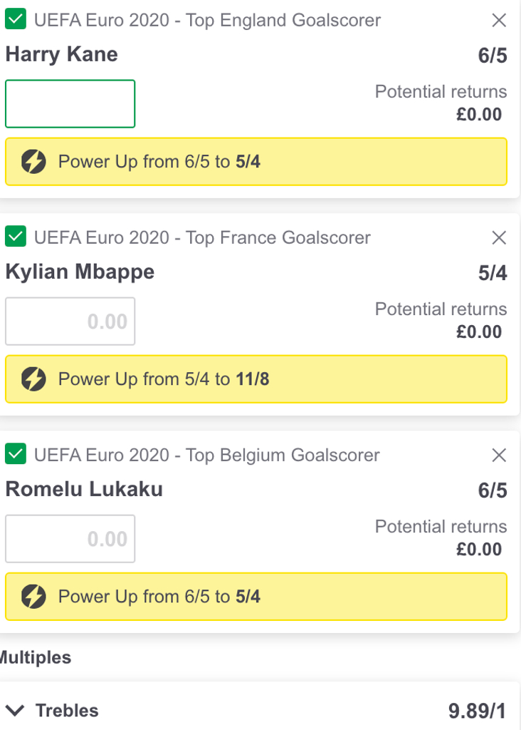 PP Euro acca