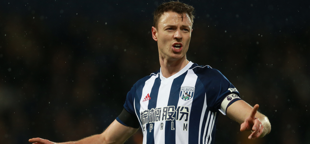 Jonny Evans West Bromwich Albion Leicester City Manchester United Northern Ireland Premier League