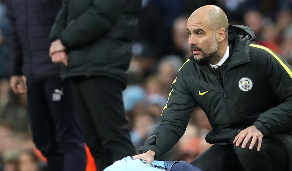 Pep Guardiola Manchester City Liverpool Premier League