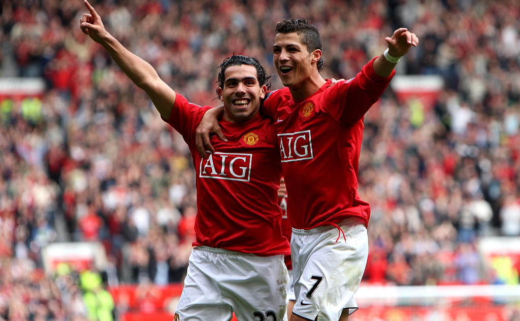 Carlos Tevez Manchester United