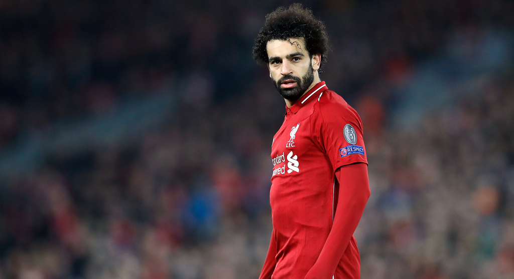 Mohamed Salah Mo Salah Liverpool Anfield Premier League Football