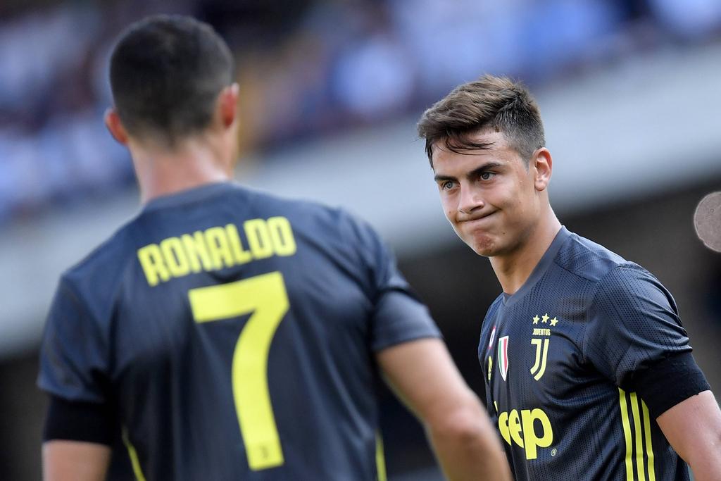 Paulo Dybala Cristiano Ronaldo Juventus