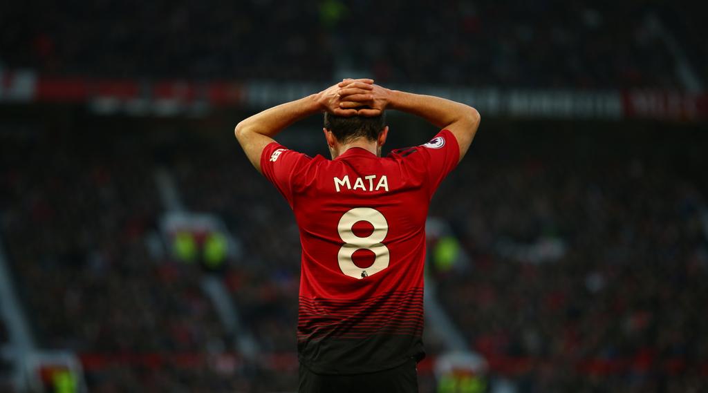 Juan Mata Manchester United Old Trafford
