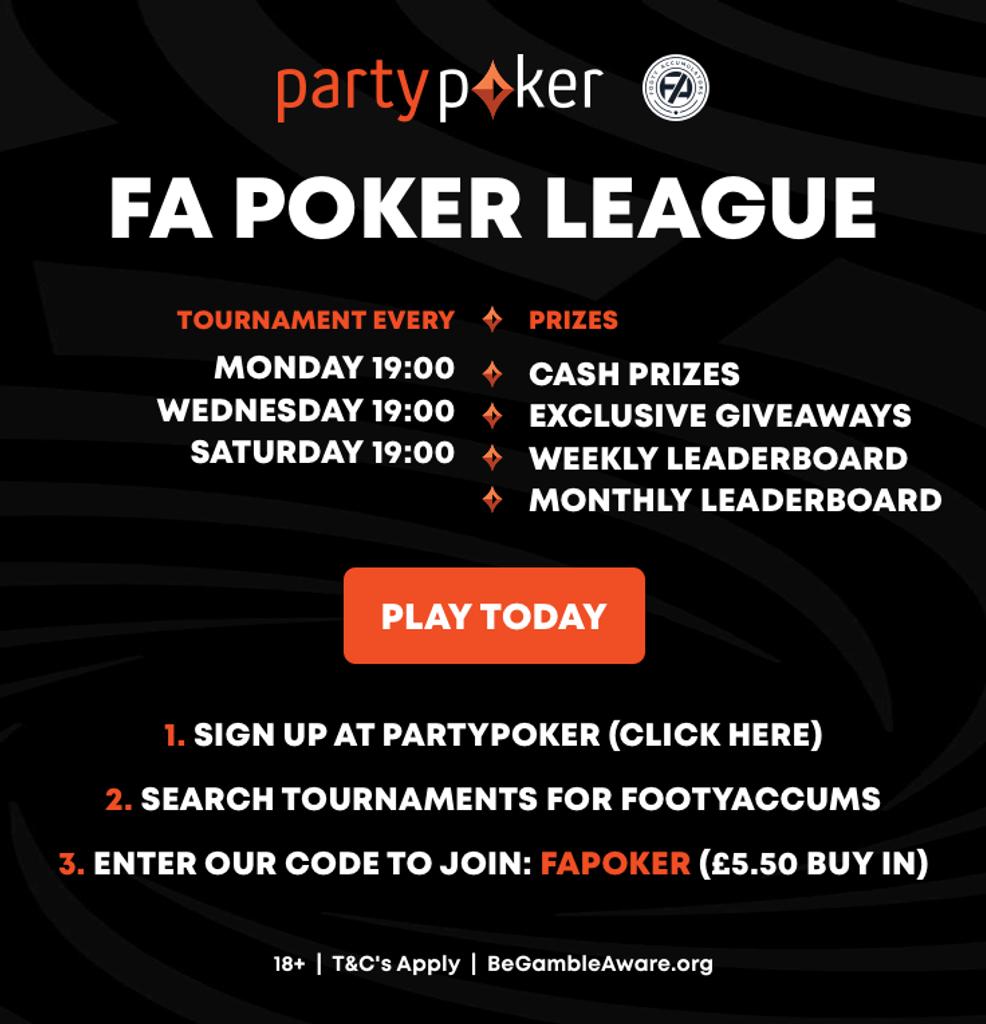 FA Poker League Header image