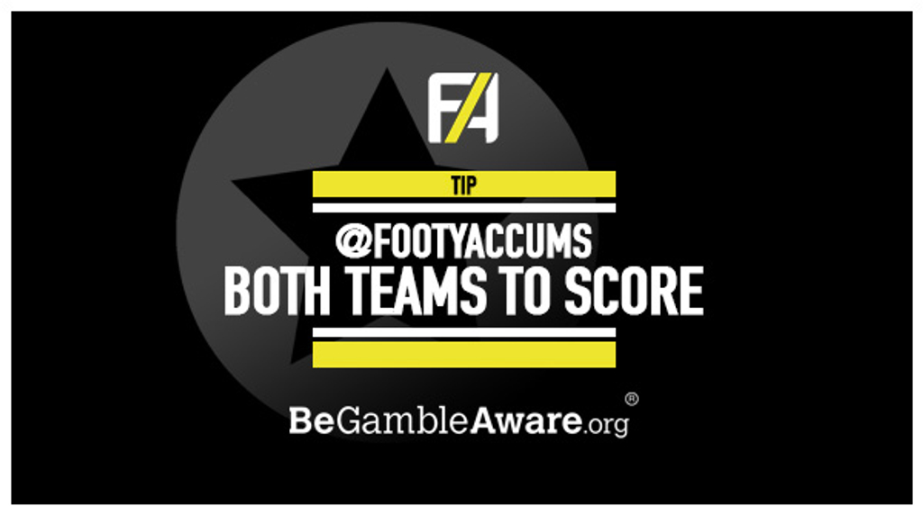 BTTS Tips | Both Teams To Score Tips | Footy Accumulators