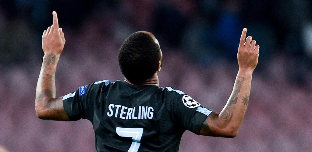 Raheem Sterling Manchester City Liverpool Premier League