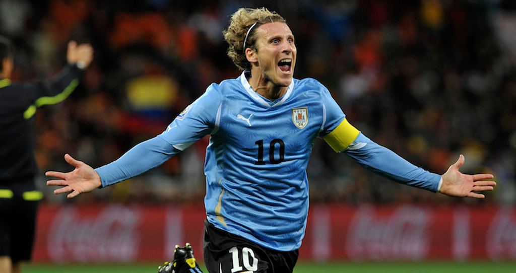 Diego Forlan Uruguay 2010 World Cup