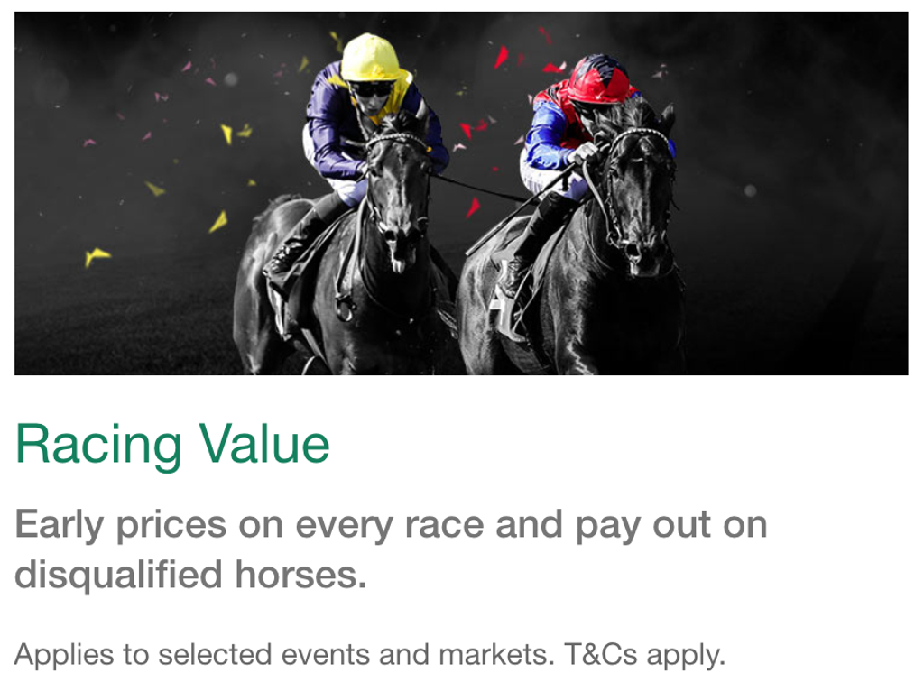 racing value promotion