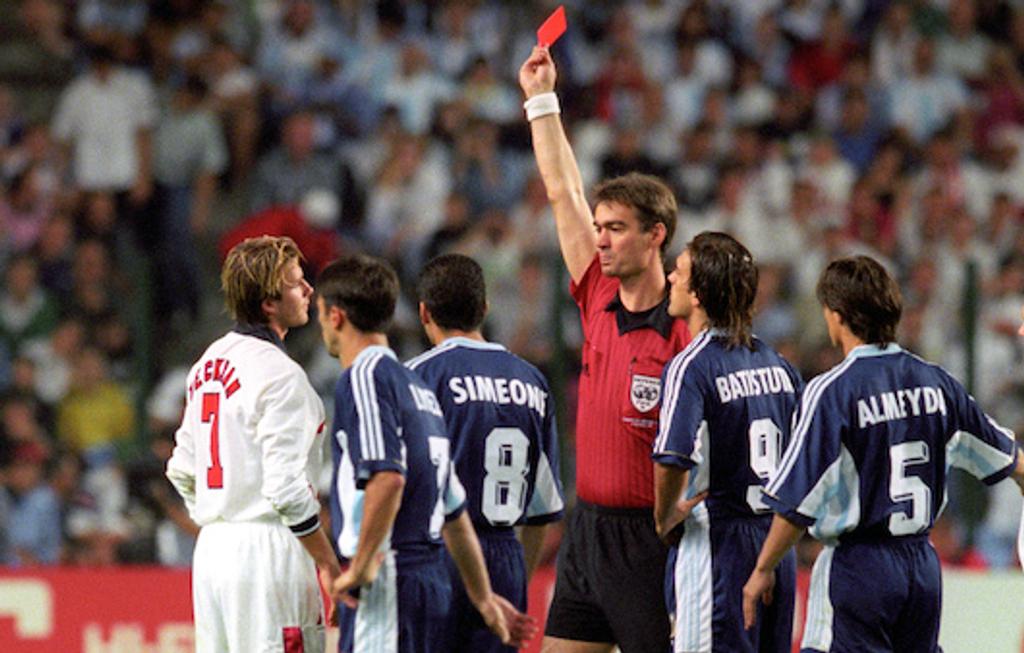 England Beckham 98