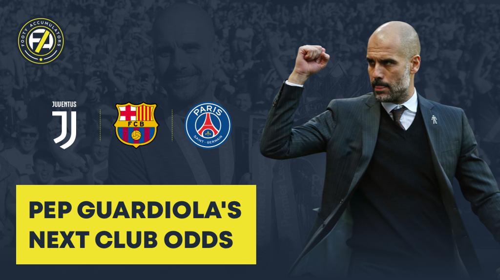 guardiola odds FA