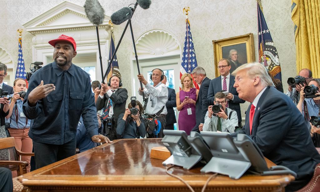 Trump Kanye