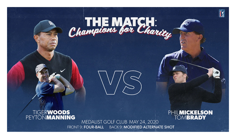 The Match PGA Golf