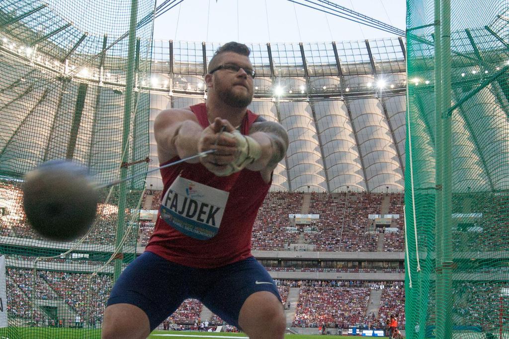 Pawel Fajdek hammer throw olympics
