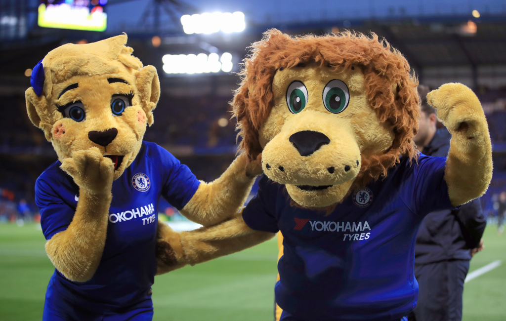 Chelsea Stamford the Lion Mascot