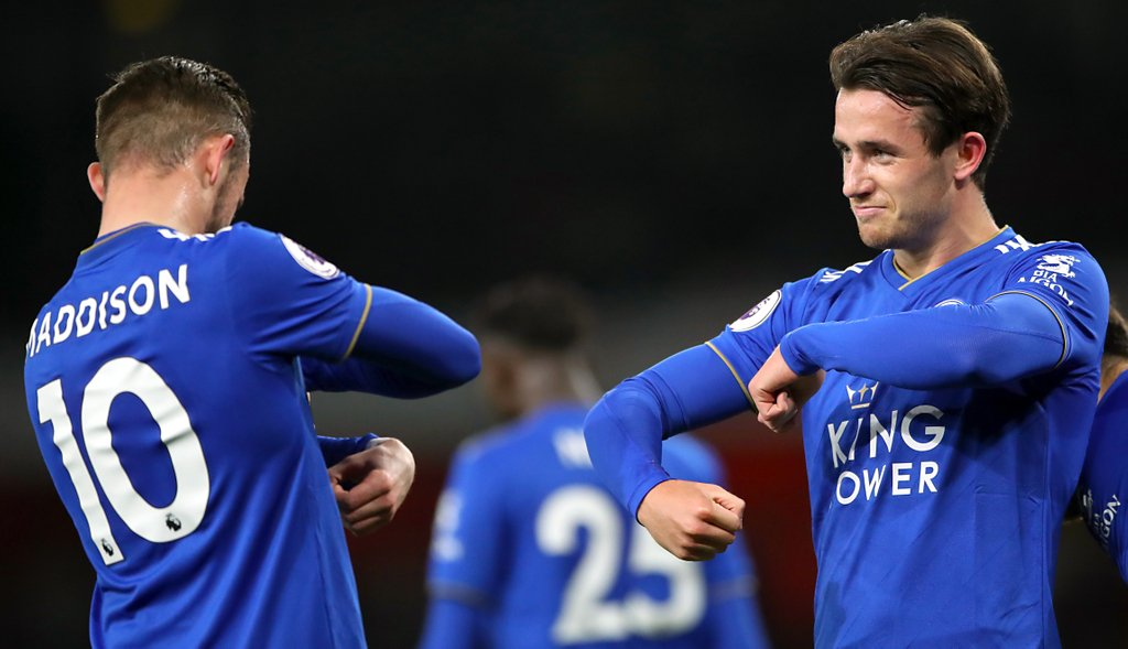 James Maddison Ben Chilwell Leicester City