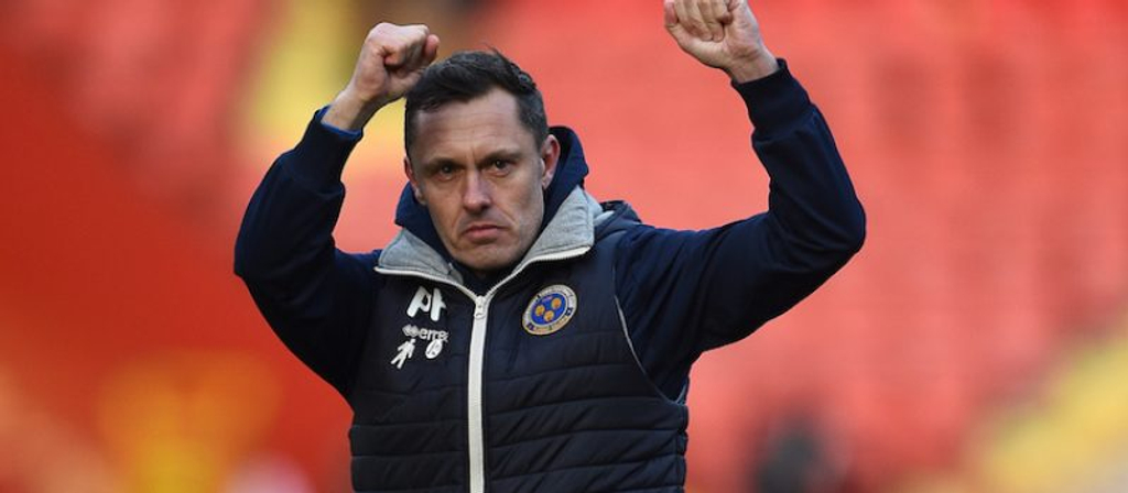 shrewsbury manager