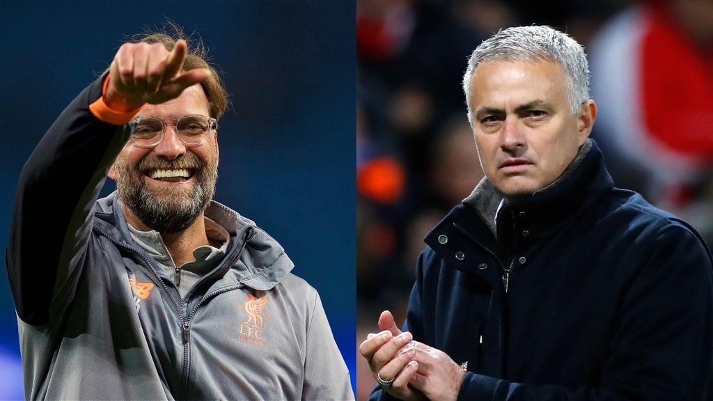 Liverpool Manchester United Jurgen Klopp Jose Mourinho
