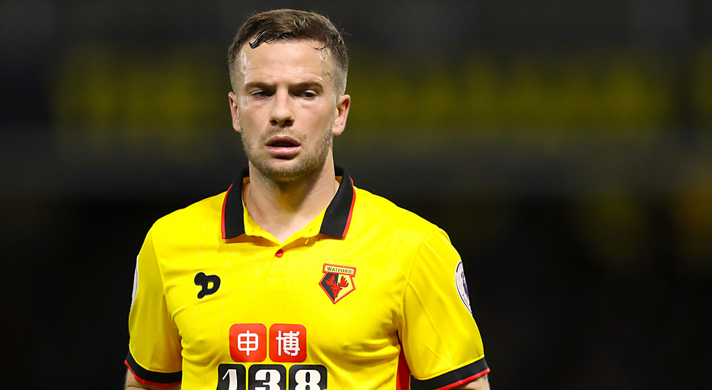 Tom Cleverley Watford Everton Manchester United Premier League