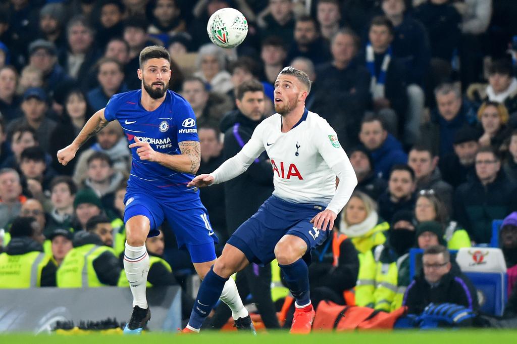 Tottenham Chelsea Alderweireld