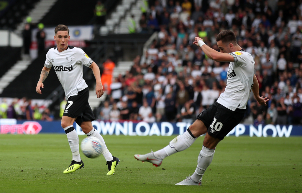 Tom Lawrence Derby County