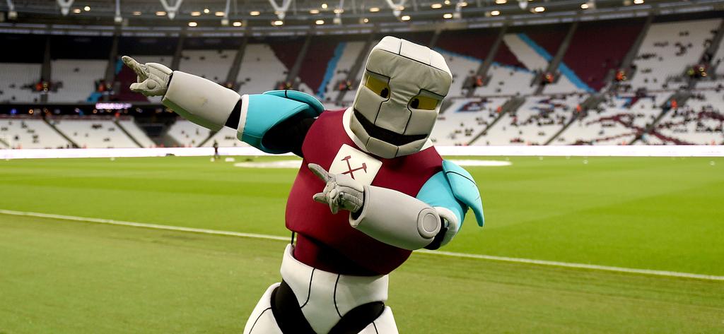 West Ham Hammerhead Mascot