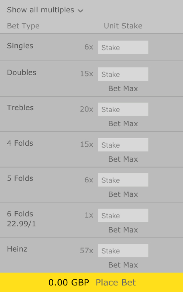 accumulator multiples
