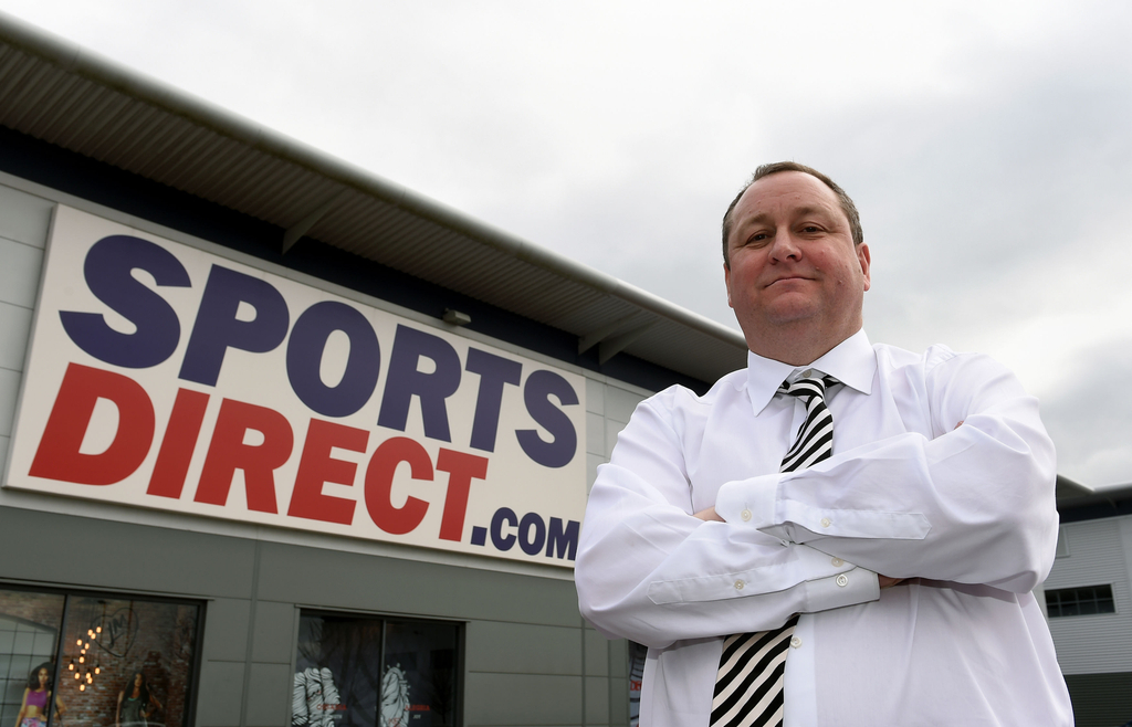 Mike Ashley Sports Direct Newcastle United