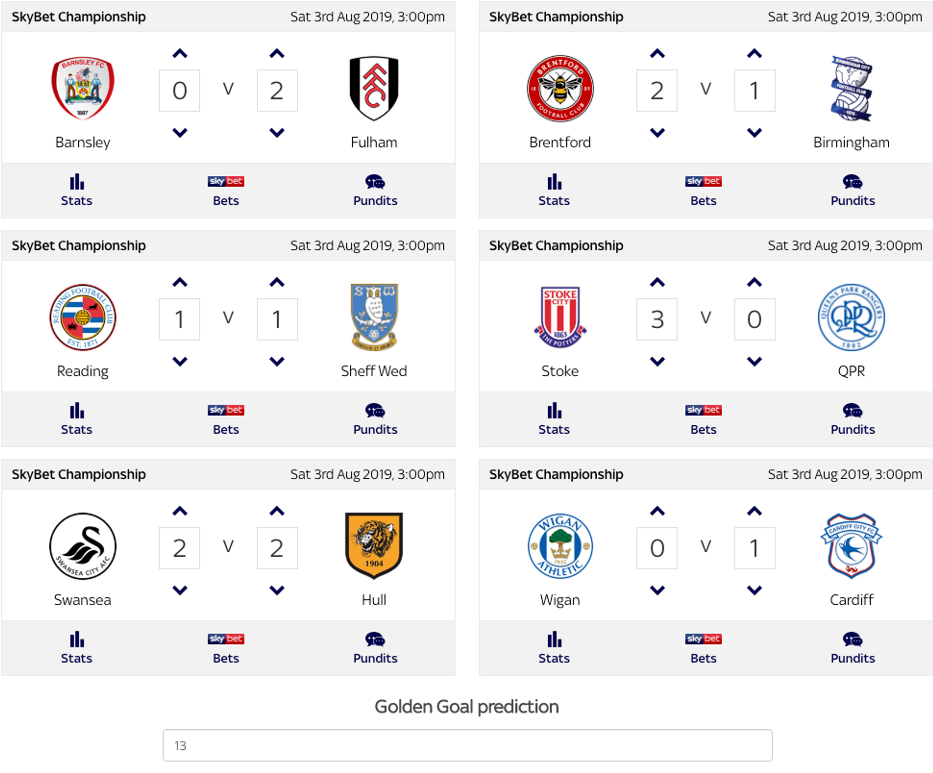 England League One Predictions