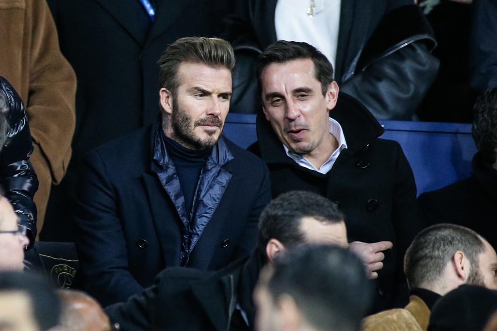 David Beckham Gary Neville