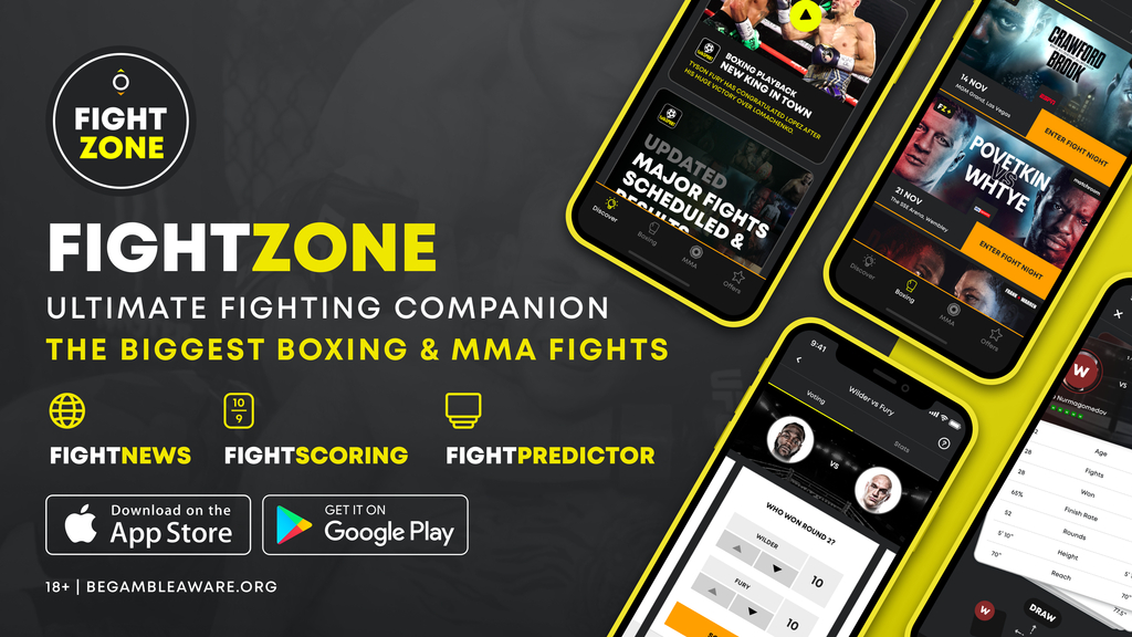 fight zone app main