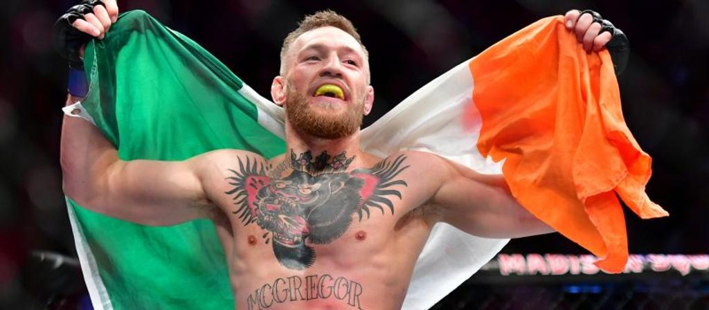 conor mcgregor flag