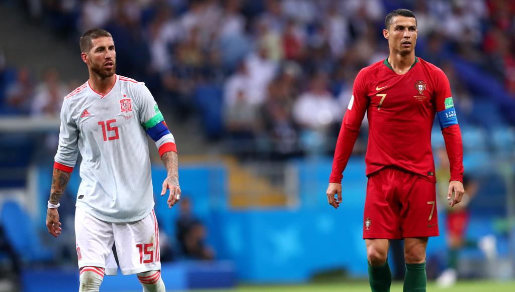Cristiano Ronaldo Sergio Ramos