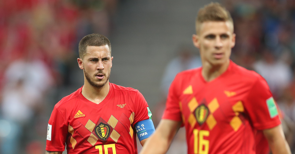 Eden Hazard Thorgan Hazard Belgium Borussia Monchengladbach Chelsea