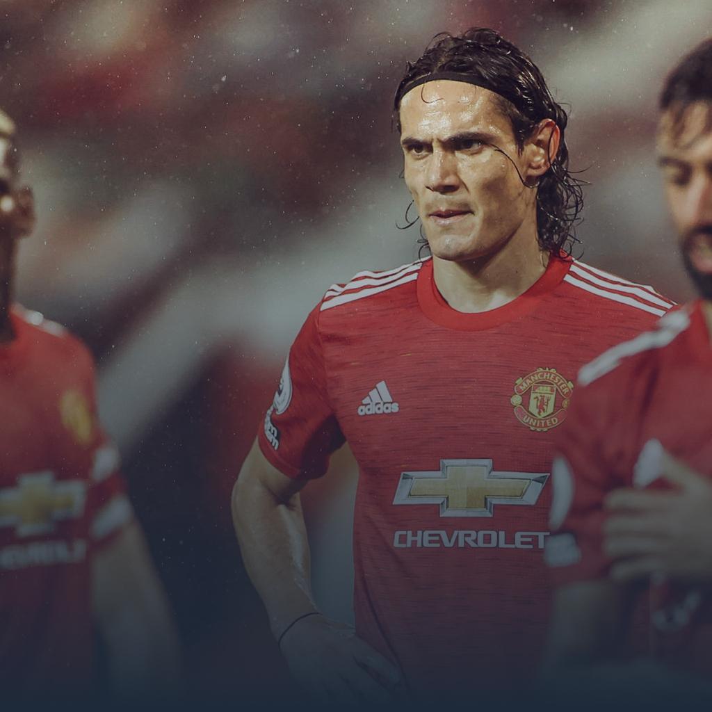 United Manchester United Edinson Cavani