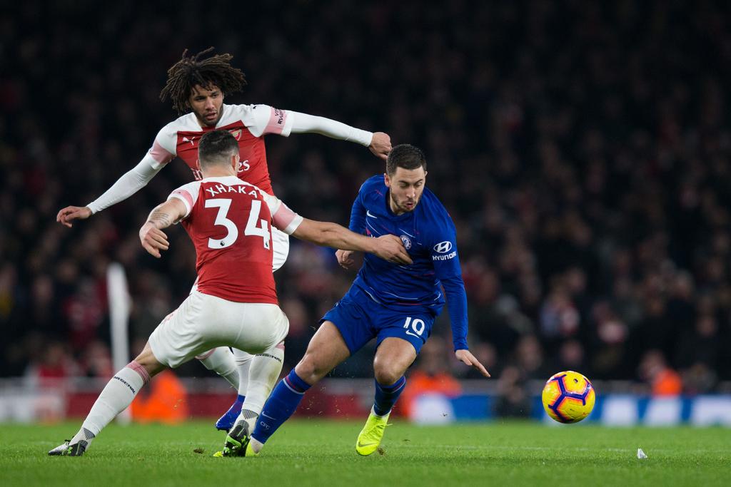 Chelsea Arsenal Eden Hazard