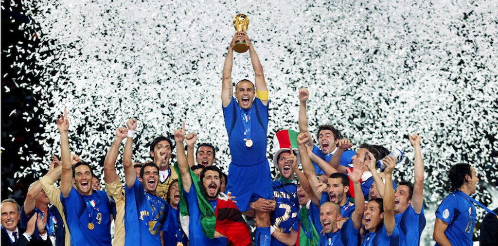 Fabio Cannavaro Italy World Cup 2006