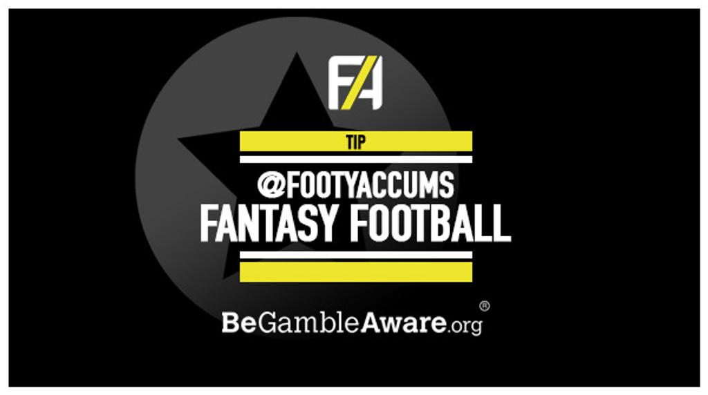 Fantasy Football Tips, Predictions & News   Footy Accumulators