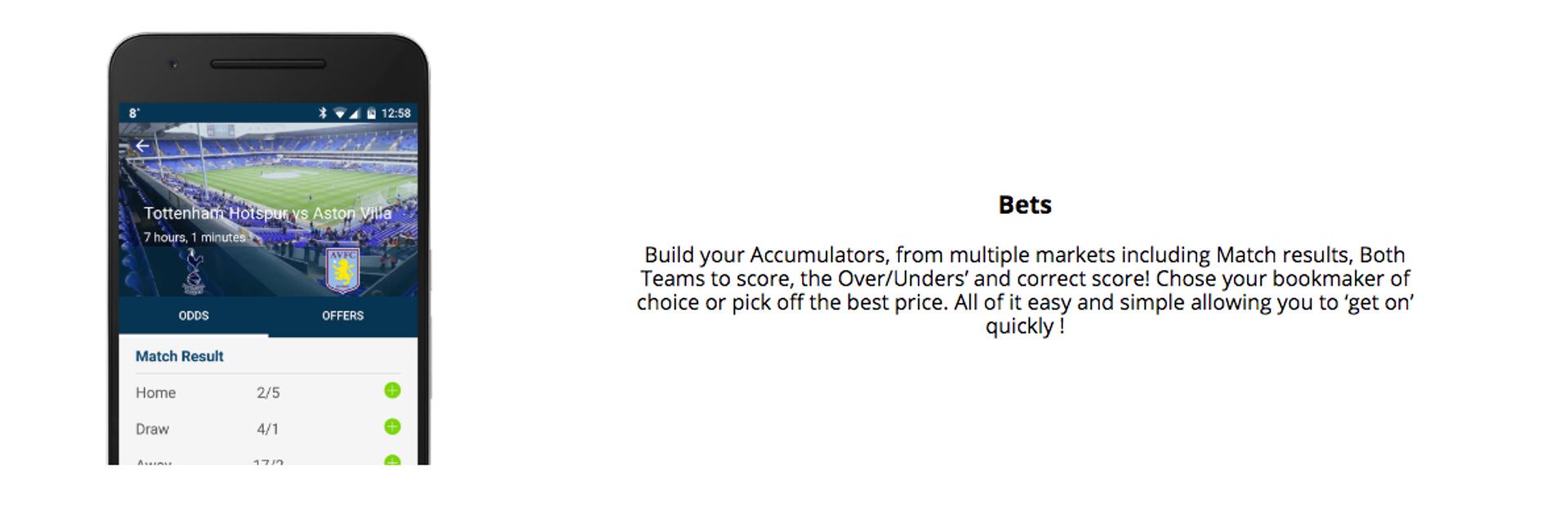 Acca Tracker App | Download Acca Tracker | Footy Accumulators