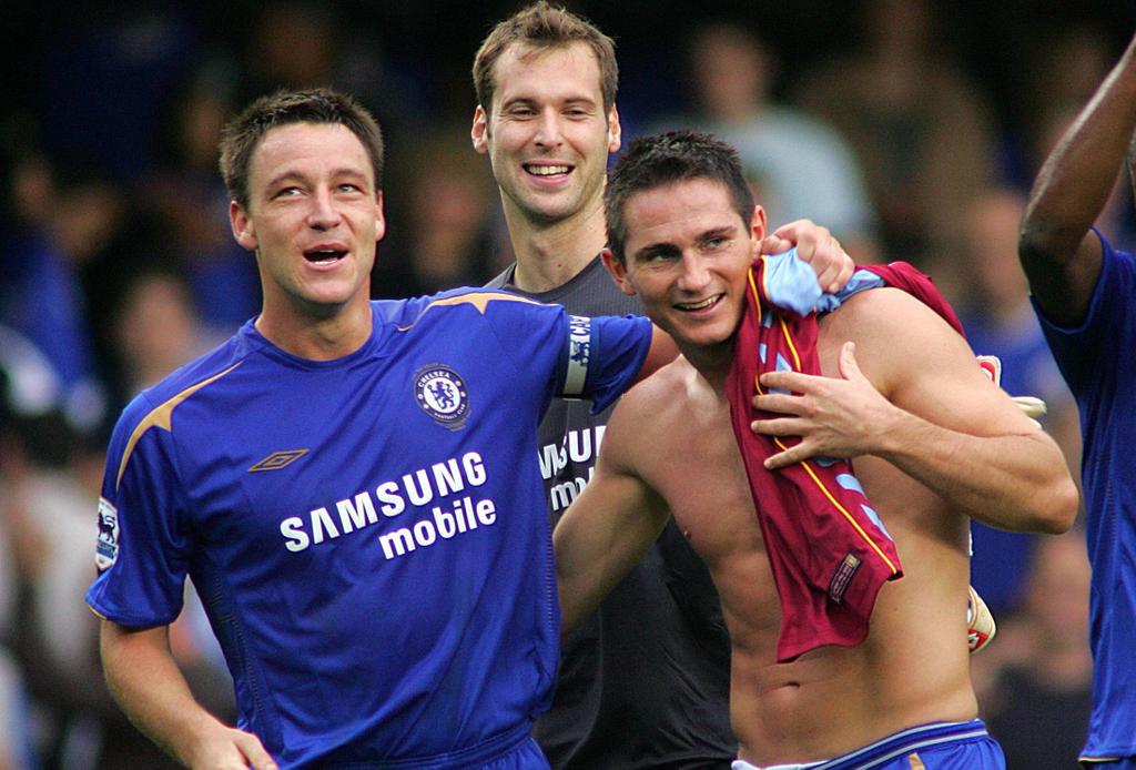John Terry Frank Lampard Petr Cech Chelsea