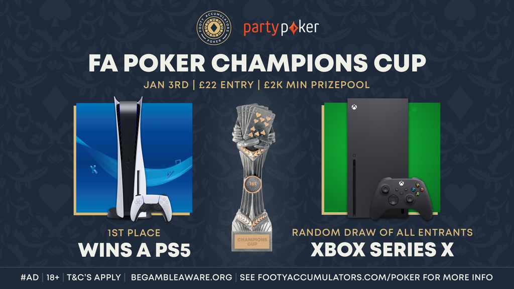 poker champions cup prizes