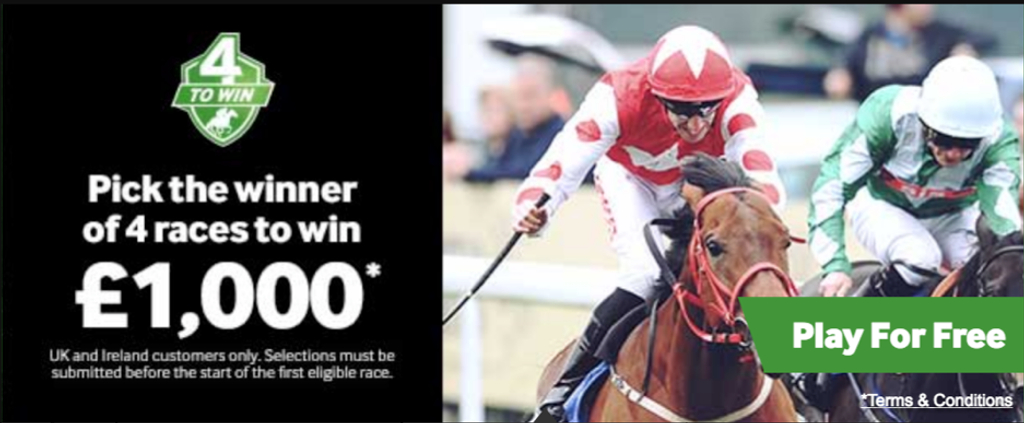 Betway 4 races offer