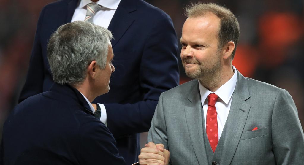 Woodward Mourinho Manchester United