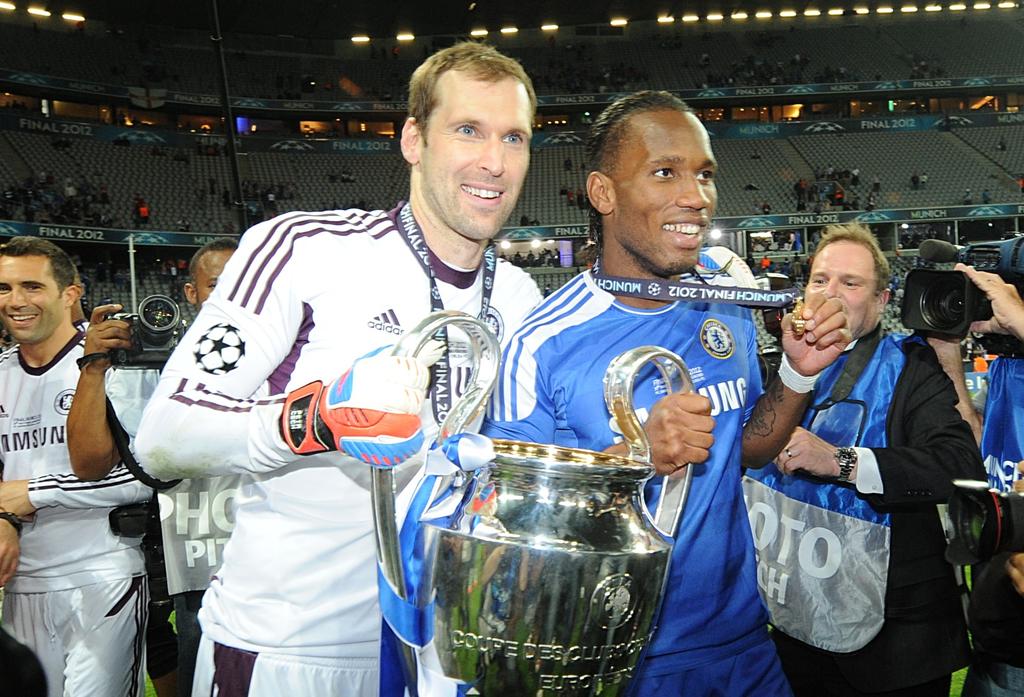 Petr Cech Didier Drogba