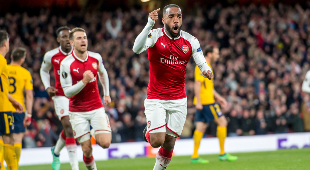 Arsenal Lacazette Europa League
