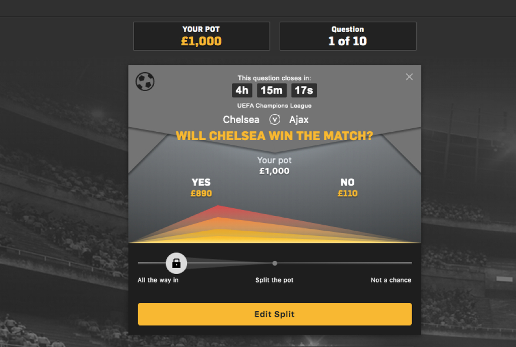 beat the drop betfair example