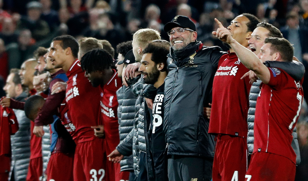 Jurgen Klopp Liverpool Champions League win