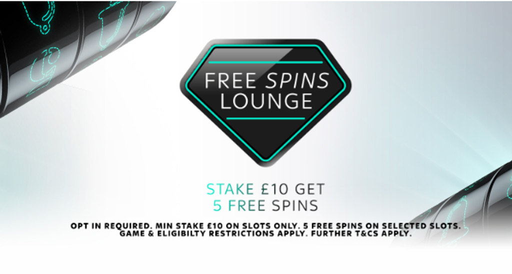 free spins lounge
