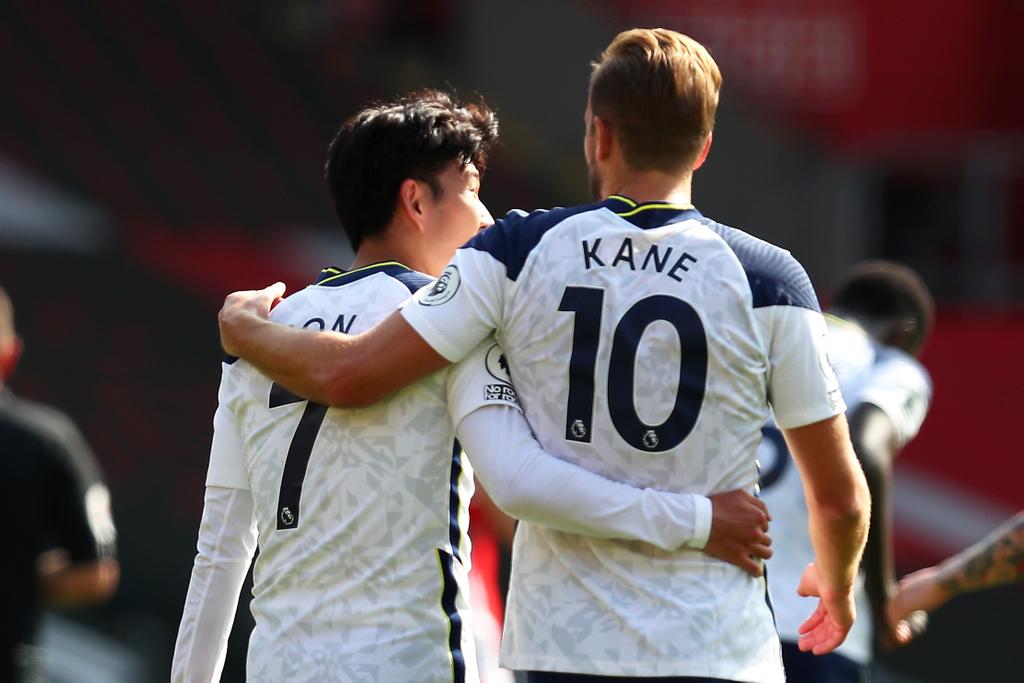 Spurs Harry Kane Son Tottenham
